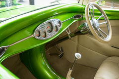 Hotrod interior Royalty Free Stock Images