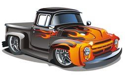 Hotrod retro del vector libre illustration