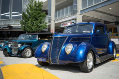 Hotrods car show Stock Images