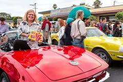Hotrods do Car Show Fotos de Stock Royalty Free
