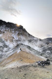 hotspring Ιαπωνία Στοκ Φωτογραφίες