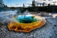Hotspring de Yellowstone Fotos de Stock