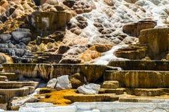 Hotspring gigantesque Photos libres de droits