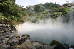 HotSpring Royalty Free Stock Photography