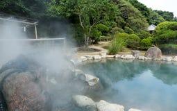 Hotsprings w Beppu mieście Zdjęcie Royalty Free