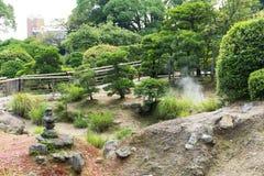 Hotsprings w Beppu mieście Zdjęcia Royalty Free