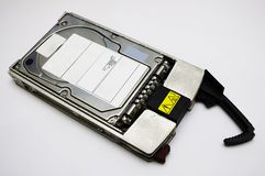 Hotswap scsi disk. An isolated hot swap scsi disk Stock Photography