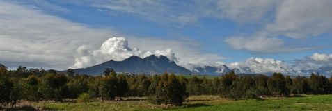 Hottentots Holland Mountains Stock Image