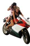 hotties摩托车 免版税库存图片