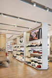 Hotwind outlet interior, Livat Shopping Mall, Beijing. Royalty Free Stock Image