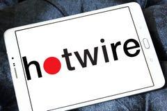 Hotwire firma loga Zdjęcie Royalty Free
