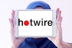 Hotwire firma loga Zdjęcia Royalty Free