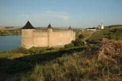 hotyn средневековая старая Украина крепости Стоковые Изображения RF