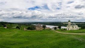 Hotyn Festung, Westukraine stockbilder