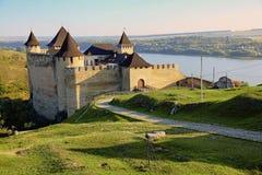 Hotyn-Schloss Stockbild