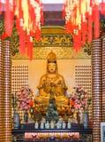 hou吉隆坡thean雕象的寺庙 免版税图库摄影