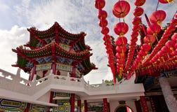 hou thean吉隆坡的寺庙 图库摄影