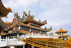 hou thean吉隆坡马来西亚的寺庙 免版税库存照片