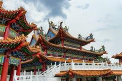 hou thean吉隆坡马来西亚的寺庙 免版税库存图片
