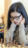 Hou Yifan. Professional chess player China, Playing chess tournament Gibraltar Tradewise Festival in January and February 2015. It is an editorial image stock photos