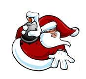 houblon Santa de gratte-cul Images stock