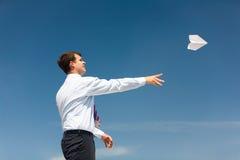 Houd bij het vliegen Royalty-vrije Stock Afbeelding