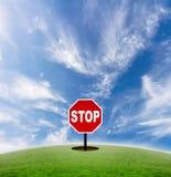 Houd de snelheid van het leven tegen Royalty-vrije Stock Foto's