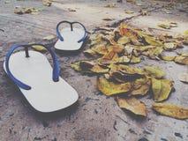 Houd lopend met naakte voeten Royalty-vrije Stock Afbeelding