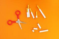 Houd met op rokend en bespaar geld Stock Foto