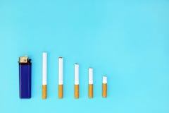 Houd met op rokend en bespaar geld Stock Fotografie
