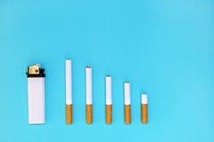 Houd met op rokend en bespaar geld Royalty-vrije Stock Fotografie