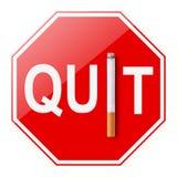 Houd op Smoking royalty-vrije illustratie