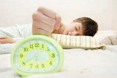Houd stilte - laat me slapen Stock Afbeelding
