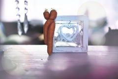 Houd van groenten Stock Foto
