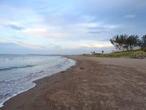 Houd van het strand Stock Foto's