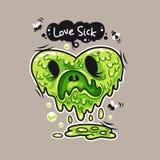 Houd van zieken Stock Foto