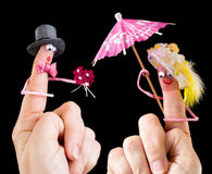 Houdend van valentijnskaartpaar Stock Fotografie