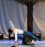 Houdende van steun-2011 dansende het Overlegpartij van de klassengraduatie Royalty-vrije Stock Afbeeldingen