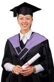 Houder van een doctoraal examen Stock Foto