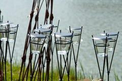 Houders van de Kaars van de thee de Lichte Royalty-vrije Stock Fotografie