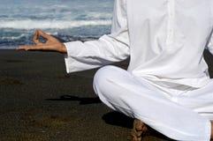 Houding 1 van Zen Stock Afbeelding