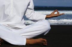 Houding 2 van Zen stock foto