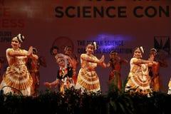 Houdingen van Indische klassieke dansen stock foto