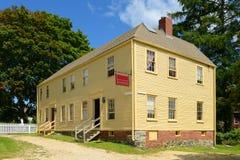 Hough-Haus, Portsmouth, New Hampshire Stockbilder