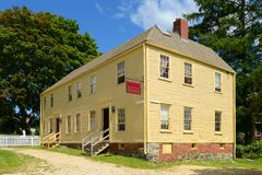 Hough House, Portsmouth, New Hampshire Stock Images