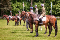 Houghton international horse trials May 2017 Royalty Free Stock Images