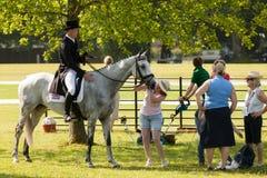 Houghton internationella hästförsök Maj 2017 Royaltyfri Bild