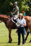 Houghton internationella hästförsök Maj 2017 Arkivfoto