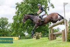 Houghton internationella hästförsök Maj 2017 arkivbild
