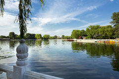 Houhai Lake, Beijing, China Royalty Free Stock Photos